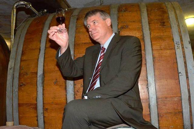 Peter Schuster will für den Badischen Winzerkeller Vertrauen zurückgewinnen