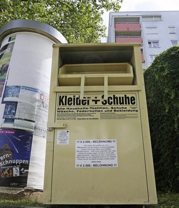 Den Wohlfahrtsverbänden ein Ärgernis: ...mlers an der Lahrer Schwarzwaldstraße   | Foto: Bastian Henning