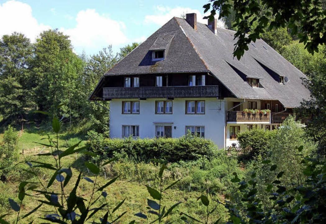 Malerisch gelegen: der Wuspenhof auf etwa 650 Metern Höhe.  | Foto: Christian Ringwald