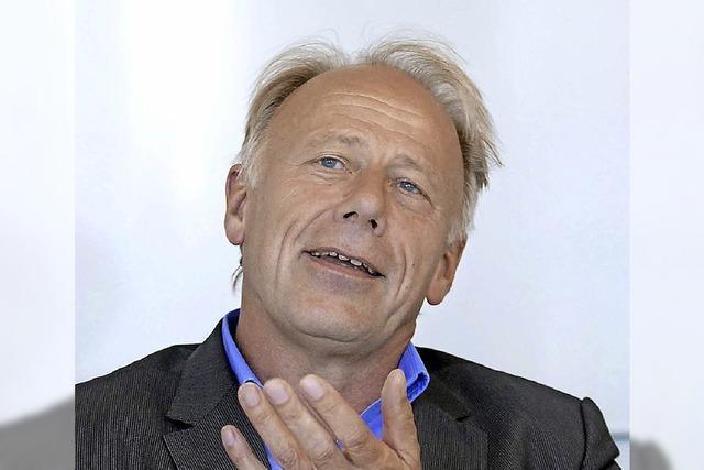 Jürgen Trittin startet Wahlkampfauftakt in Südbaden