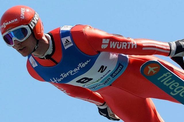 Deutsche Skispringer dominieren den Sommer