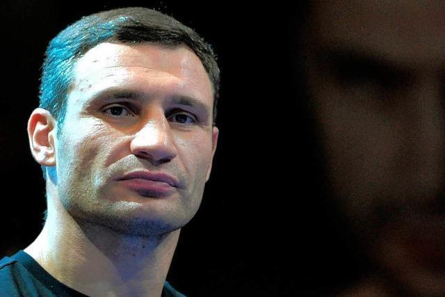 Vitali Klitschko steigt in der Ukraine in den Ring