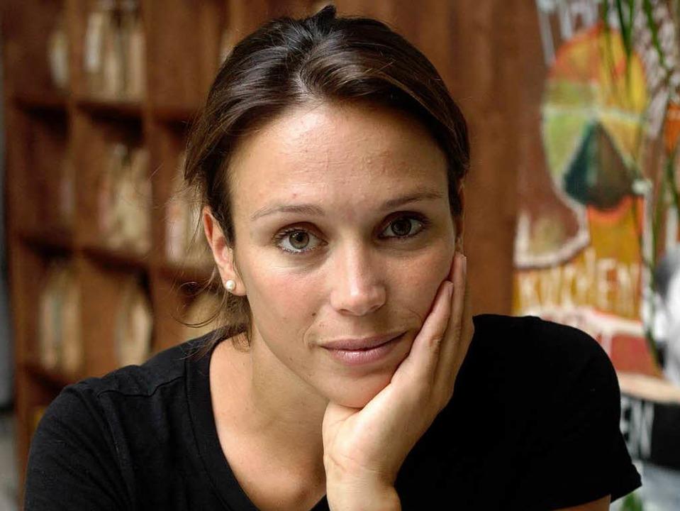 Klippenspringerin Anna Bader.  | Foto: Patrik Müller