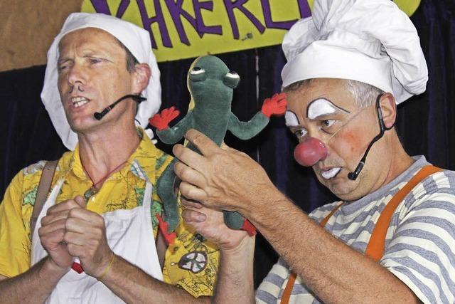 Kakerlaki-Clowntheater in Todtmoos