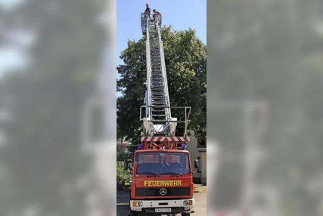 Die Feuerwehr ist für Kinder immer spannend