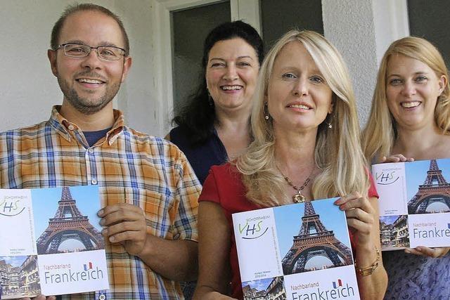 Das neue VHS-Programm widmet sich schwerpunktmäßig dem Thema Frankreich