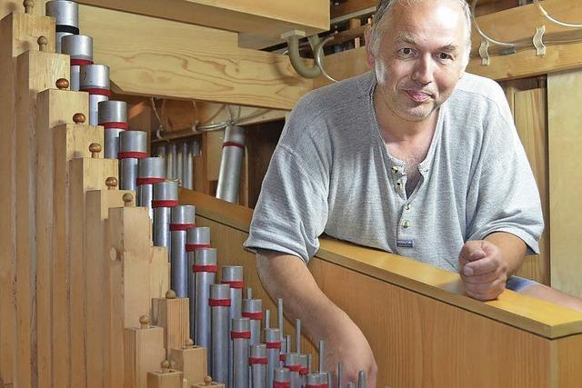 Die Orgel erhält ihren eigenen Klang