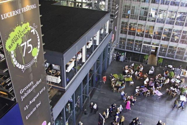 Lucerne Festival: Die Revolution ist ein Festspiel