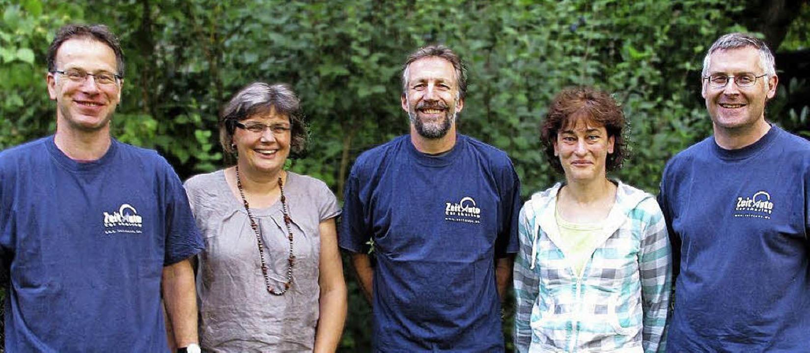 Der neue Vorstand mit Benjamin Fleck L...Becker, Maria Gille und Roland Decker   | Foto: Privat
