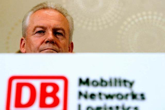 Bahnchef Grube entschuldigt sich für Chaos in Mainz
