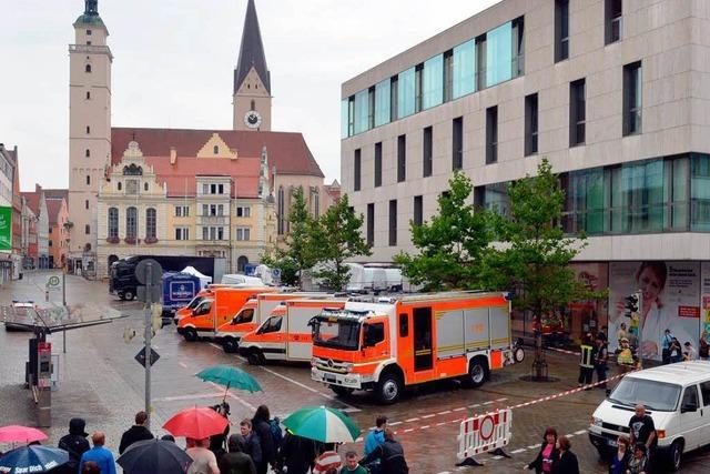 Ingolstadt: Geiselnahme im Rathaus beendet
