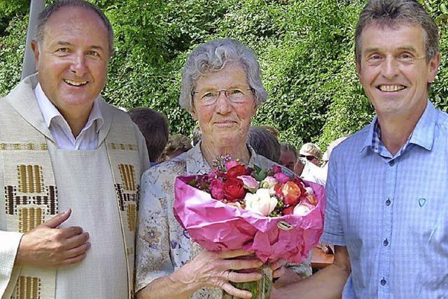 Irene Müller ist seit 30 Jahren Mesnerin