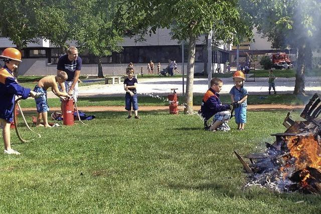 Spaß mit der Feuerwehr