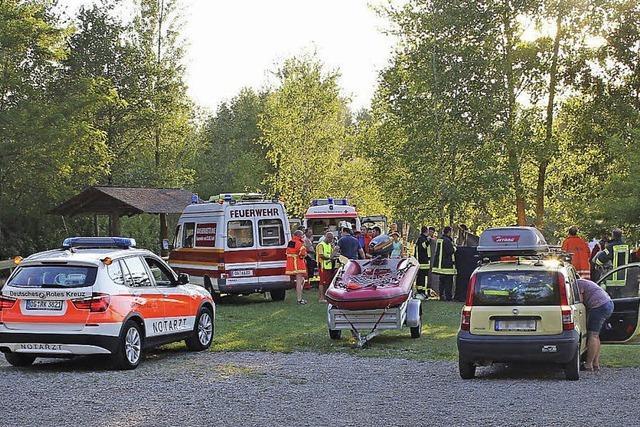 Tödlicher Unfall in Badesee bei Meißenheim
