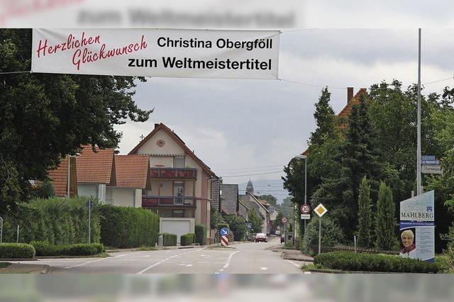 Empfang für Weltmeisterin Obergföll voraussichtlich im September