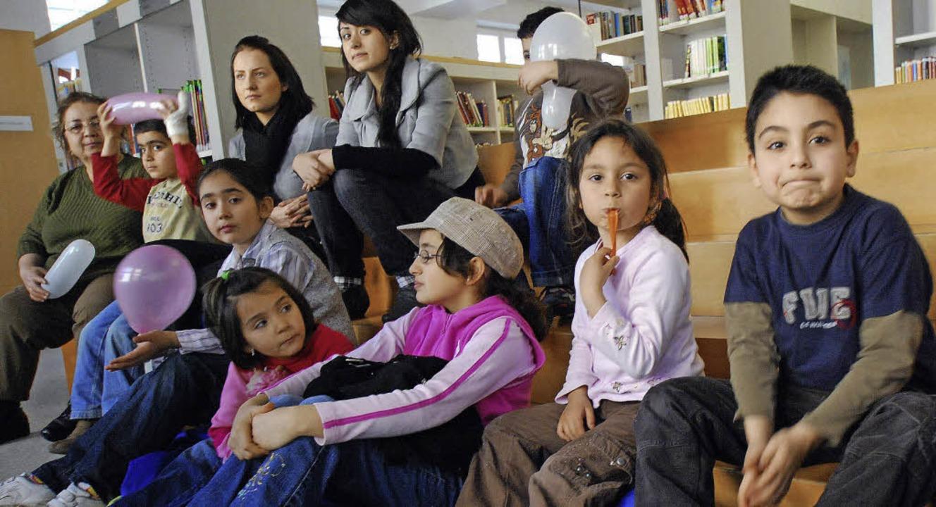 Die Lesungen für Kinder mit türkischen...ojekten der Schubert-Durand-Stiftung.   | Foto: Archivbild: Barbara Ruda