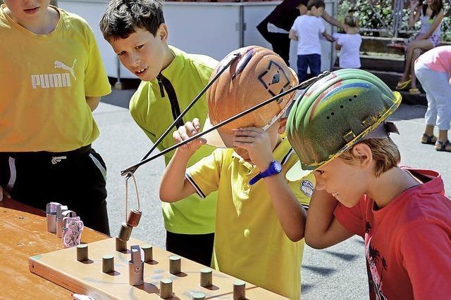 Spiel und Spaß zum Abschluss des Festes