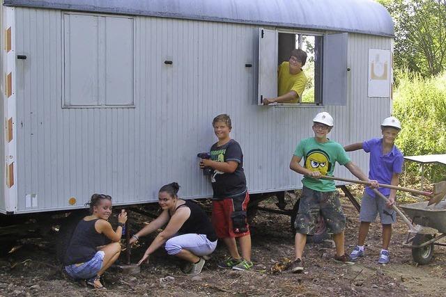 Bauwagen für die Jugend