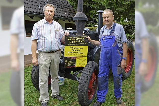 Fest für Biker und Oldtimer Traktoren