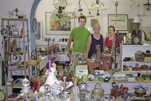Der Sozialladen der Wohnungslosenhilfe in Müllheim zieht viele Leute an