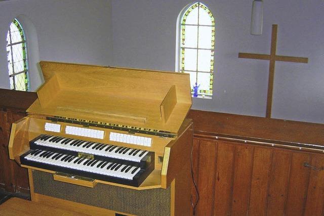 Neue Orgel für Gottesdienste