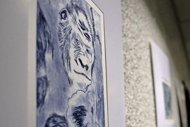 Kunstausstellung im Rathaus bis Monatsende