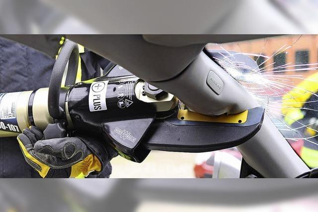 Neue Rettungsschere für die Feuerwehr