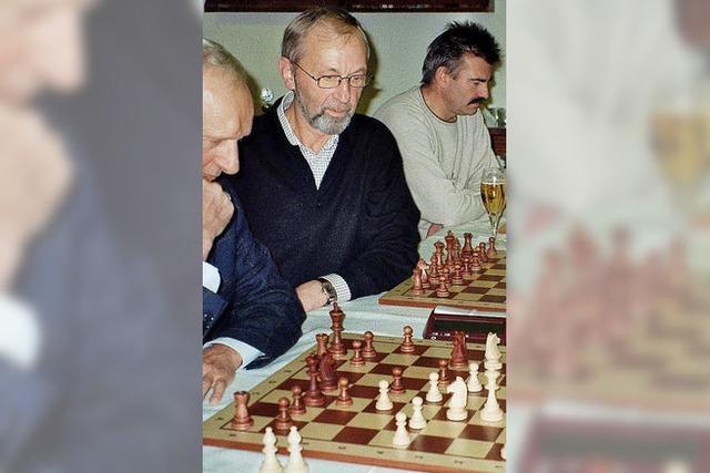 Premiere für Schach Open im Bürgerhaus
