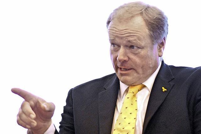 Dirk Niebel spürt keine Wechselstimmung