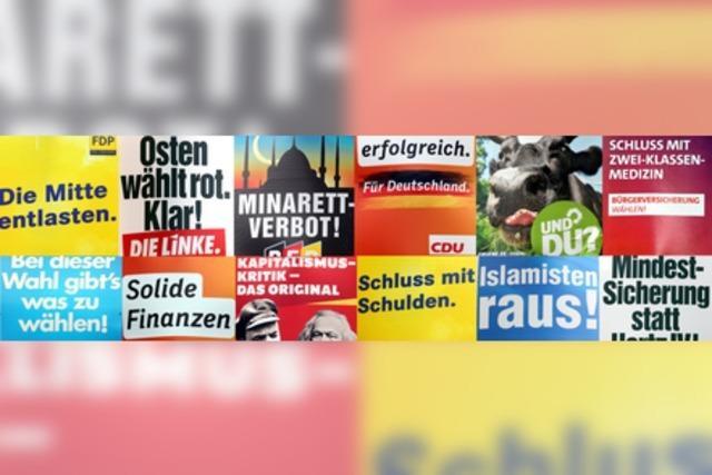 BZ-Wahlzeit: Die Themen zur Bundestagswahl 2013