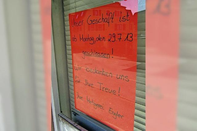 Im Teninger Oberdorf schließen immer mehr Geschäfte