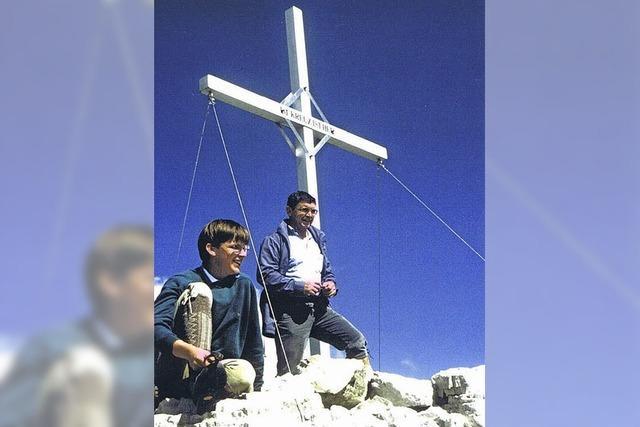 Das Gipfelkreuz aus Reichenbach