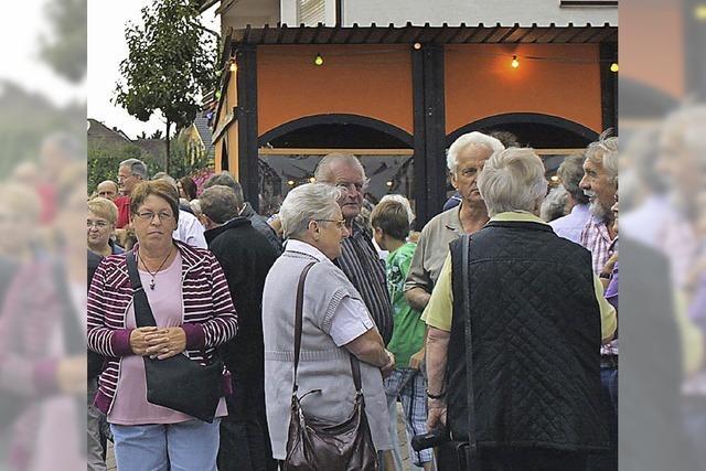 Drei Tage wird in Ringsheim kräftig gefeiert