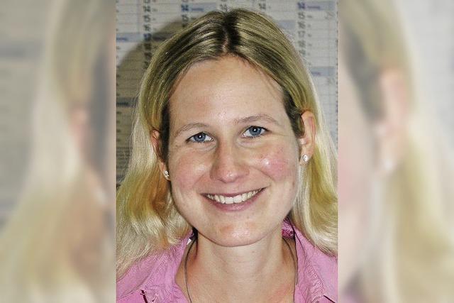 Isabelle Göpper ist die neue Richterin am Amtsgericht