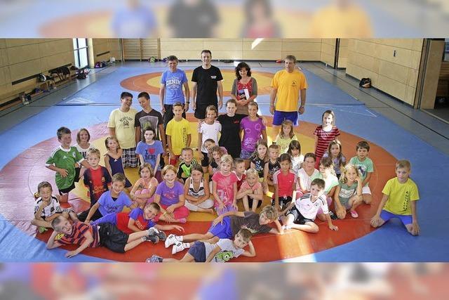 Ferienprogramm: Ringen macht Spaß