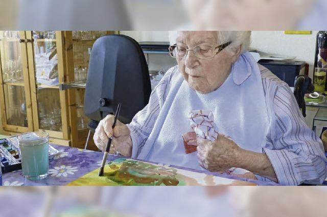Malen rundet ihre 100 Lebensjahre ab
