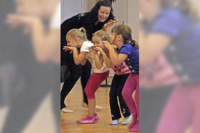 Krey eröffnet Ballettschule