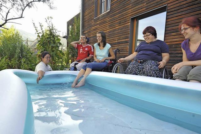Lifter am Schwimmbecken gibt es nur im Eugen-Keidel-Bad