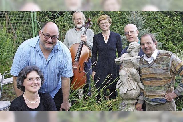 Ensemble Cantabile spielt im Barocksaal des Todtmooser Paulinerklosters