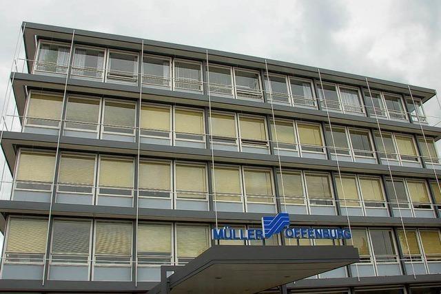 Stahlbau Müller in Offenburg ist erneut pleite