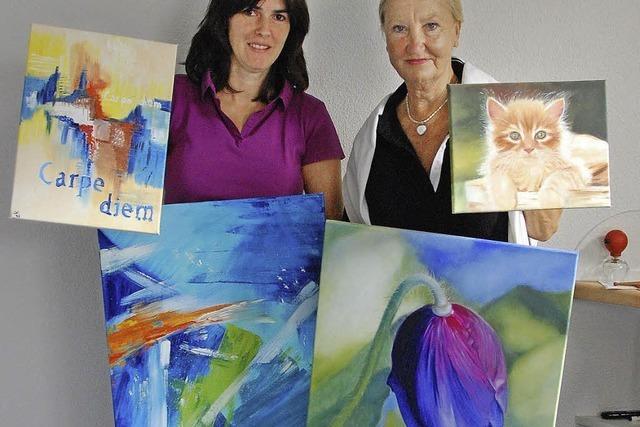 Erstmals Kunstausstellung zum Dorffest
