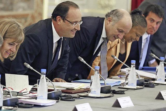 Der Humor von François Hollande