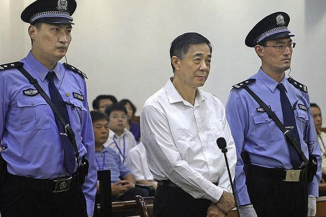 Bo Xilai verteidigt sich gegen Korruptionsvorwürfe