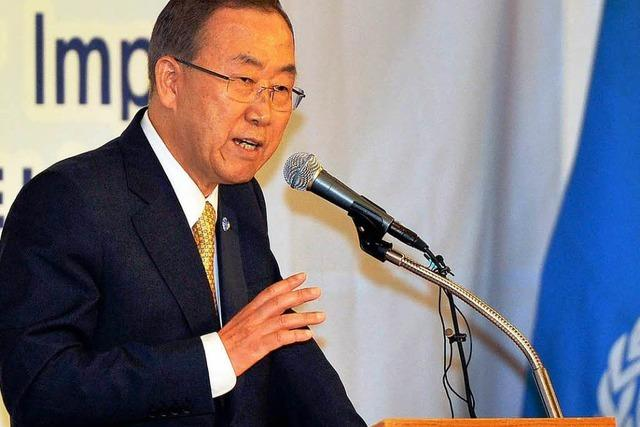 UNO: Ernste Konsequenzen für Giftgaseinsatz