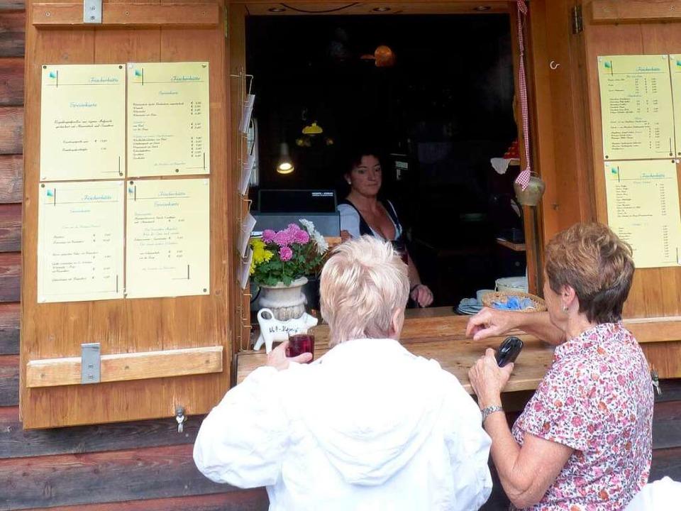 Beliebt: Die Gaststätte  in der Nähe des Nonnenmattweihers.  | Foto: Dirk Sattelberger