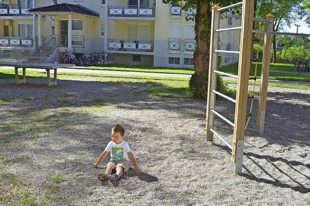 Auch kleine Kinder wollen spielen