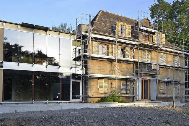 Europa bekommt eine Villa für seine Besucher