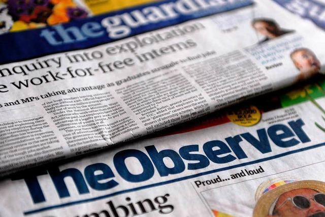 Wie Großbritannien um die Pressefreiheit streitet