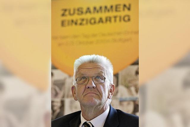 Die Nation zu Gast bei Kretschmann