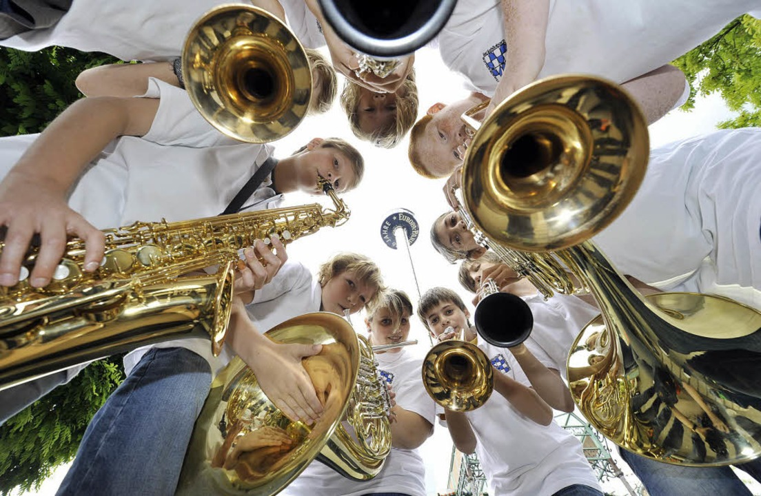 Blasmusik ist am Samstag im Europa-Park Trumpf.   | Foto: europa-park